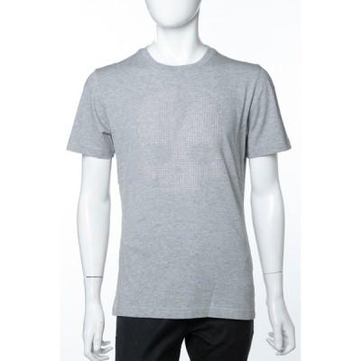ハイドロゲン Tシャツ 半袖 丸首 クルーネック メンズ 230122 グレー HYDROGEN