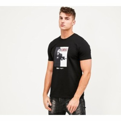 アレッサンドロ ザベッティ Alessandro Zavetti メンズ Tシャツ トップス say hello two tone t-shirt Black