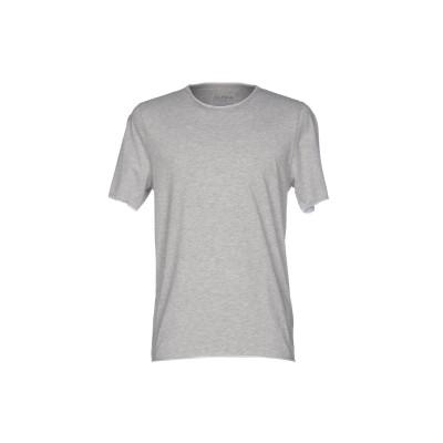 アルファスタジオ ALPHA STUDIO T シャツ グレー 46 コットン 100% T シャツ