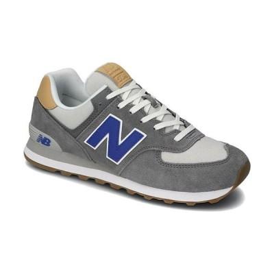 ニューバランス(New Balance) メンズ レディース スニーカー グレー ML574 NE2 D 靴 カジュアル ローカット おしゃれ