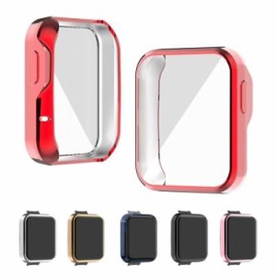 Xiaomi Mi Watch Lite メッキ ケース/カバー 保護ケース カバー ソフト TPU製 シャオミMIウォッチ ライト  メッキ プロテクターカバー 耐
