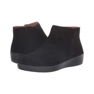 FitFlop フィットフロップ レディース 女性用 シューズ 靴 ブーツ アンクルブーツ ショート Sumi - Black