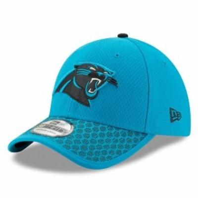 New Era ニュー エラ スポーツ用品  New Era Carolina Panthers Blue 2017 Sideline Official 39THIRTY Flex Hat