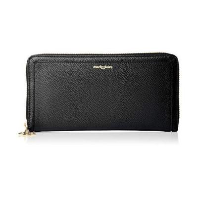 [マリクレール] 長財布 ラウンドファスナー 財布 大容量 小銭入れ付き レディース 本革 カードポケット18枚 ブ?