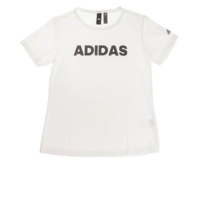 アディダス(adidas)Tシャツ レディース 半袖 MH キャップリニア GUN30-FM5306 オンライン価格