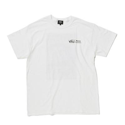 【VANSウェア】VANS P/SJP2020 DENNIS MCNETT T ヴァンズ ショートスリーブTシャツ VA19FW-MT52VP WHITE M ホワイト