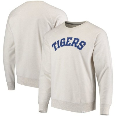 デトロイト・タイガース Fanatics Branded True Classics French Terry Pullover スウェットシャツ - Cream