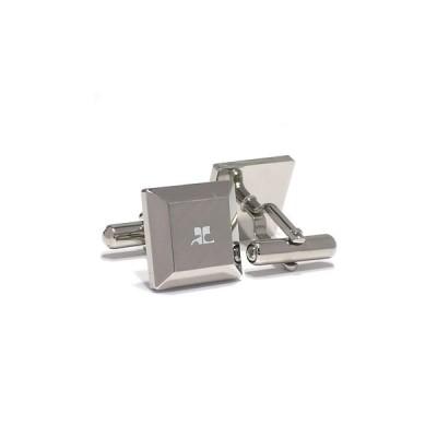 クレージュ courrege カフスボタンcuffs ブランド ロジウム CC5006 ギフト プレゼント 贈答品