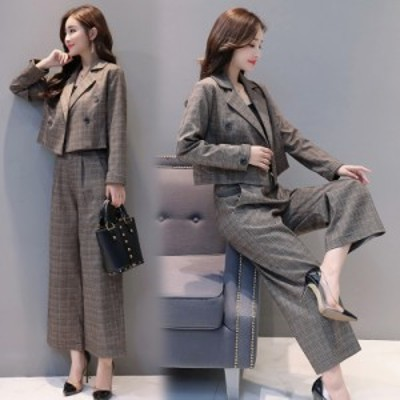 スーツ パンツスーツ レディース セットアップ フォーマル 入学式 謝恩会 ママ おしゃれ 大人コーデ セレモニー 発表会 w43