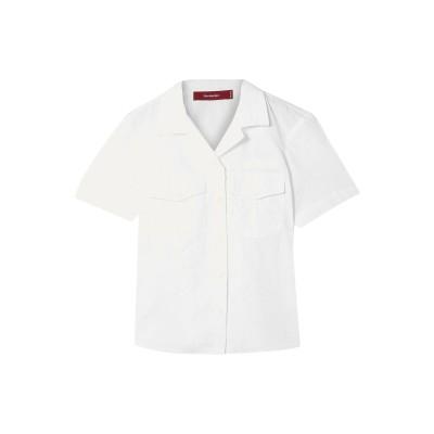 シエス・マルジャン SIES MARJAN シャツ ホワイト 4 コットン 59% / ポリエステル 41% シャツ