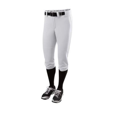 エボシールド ボトムス レディース ランニング Evoshield Women's Standout High Rise Softball Pants Team White