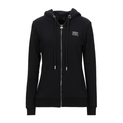 PHILIPP PLEIN スウェットシャツ ブラック XS コットン 100% スウェットシャツ