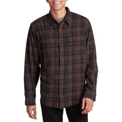 フィルソン Filson メンズ シャツ トップス Scout Shirt Brown/Navy/Black Plaid