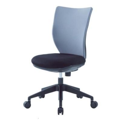 アイリスチトセ 回転椅子3DA グレー 肘なし 3DA45M0GR [3DA-45M0-GR][r20][s9-832]