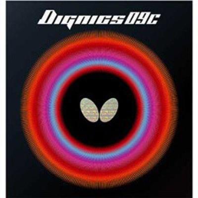 バタフライ BUTTERFLY ディグニクス09C 卓球ラバー [サイズ:厚] [カラー:ブラック] #06070-278 スポーツ・アウトドア