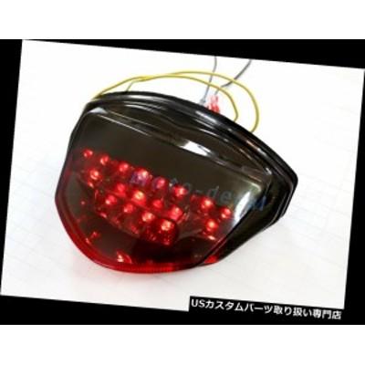 バイク テールライト LEDスズキGSXR 1000(2007-08)インテグレーテッドLEDテールライトブレーキターンシグナルスモーク  LED Suzuki GSX