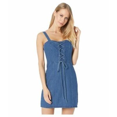 ビービーダコタ レディース ワンピース トップス Denim Daydream Dress Medium Blue
