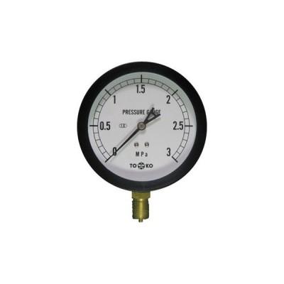 一般圧力計A形Φ100(簡易防滴形) TOKO(東洋計器興業) BL-AT3/8G 100×3MPa(簡易防滴形)