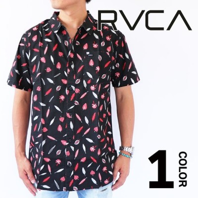 【20%オフ・セール】ルーカ RVCA TOM GERRARD ショートスリーブシャツ メンズ 半袖シャツ トップス サーフ