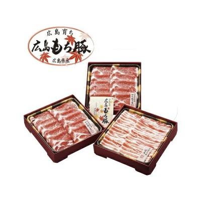 広島県産 広島もち豚すき焼きセット HM-40