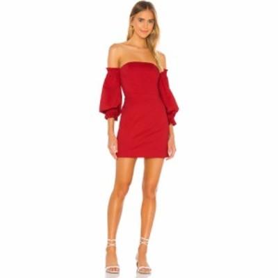 ソング オブ スタイル Song of Style レディース ワンピース ミニ丈 ワンピース・ドレス Kerry Mini Dress Cherry Red