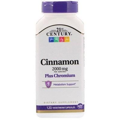 Cinnamon Plus Chromium, 2,000 mg, 120 Vegetarian Capsules
