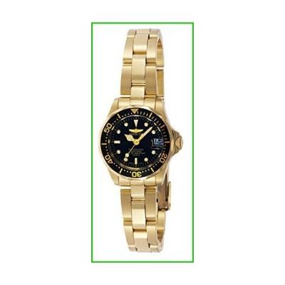 インビクタInvicta Women's Pro Diver 24.5mm Gold Tone Stainless Steel Quartz Watch, Gold/Black (Model: 8943)【並行輸入品|送料無