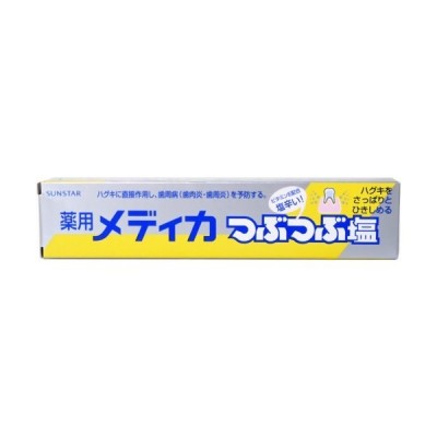 薬用メディカ つぶつぶ塩 170g