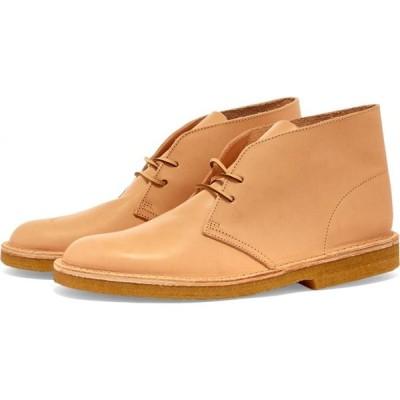 クラークス Clarks Originals メンズ ブーツ シューズ・靴 desert boot Natural Veg Tan
