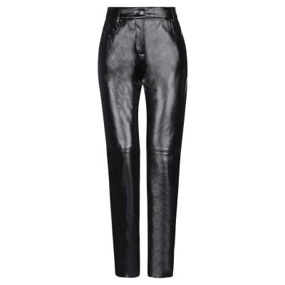 エムエスジーエム MSGM パンツ ブラック 40 レーヨン 60% / ポリウレタン 40% パンツ
