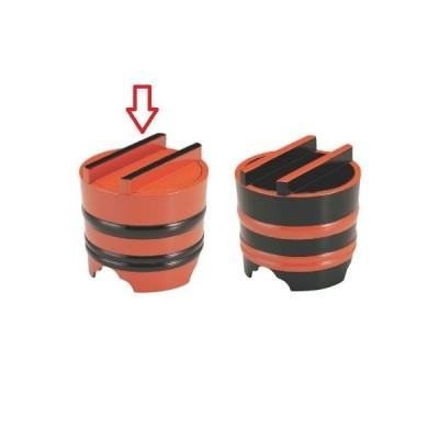 麺桶 (小)釜揚げ朱帯黒 高さ160 直径:165/業務用/新品