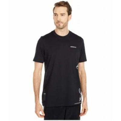 (取寄)アディダス オリジナルス メンズ グーフィー ティー Tシャツ adidas originals Men's Goofy Tee Black/White