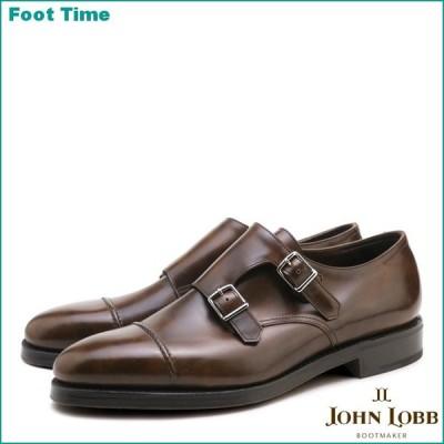 ジョンロブ ウィリアム2 ダブルレザー パリジャンブラウン ダブルモンクストラップ ビジネスシューズ 紳士靴 メンズ