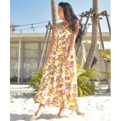 Kahiko 公式 [ジュエルランワンピース] カヒコ ハワイアン  ファッション ワンピース 4IA-1132