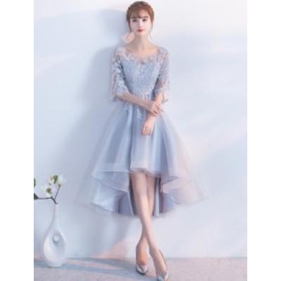 大きいサイズ Aラインドレス韓国風 ウェディングドレス 二次会 結婚式披露宴花嫁 プリンセス パーティードレス 痩せる効果ブライダル