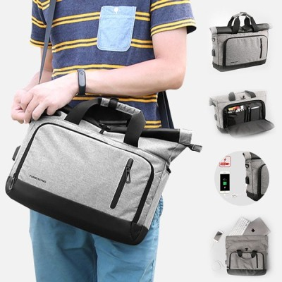 ビジネスバッグ メンズ レディース ショルダーバッグ ハンドバッグ 2way ビジネス 大容量 PC対応 手提げ 斜めがけバッグ A4対応 撥水 旅行 通勤