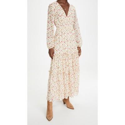 ロストアンドワンダー Lost + Wander レディース ワンピース マキシ丈 ワンピース・ドレス Love In Bloom Maxi Dress Ivory Floral