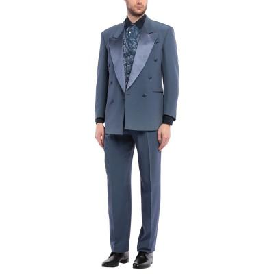 TUSSAH スーツ ブルーグレー 48 ウール 50% / アセテート 50% スーツ