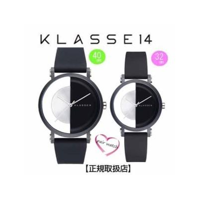 クラス14  腕時計 ペアウォッチ Imperfect Black Arch IP Black Case 40mm 32mm  IM18BK007M IM18BK007W  交換ベルト付き