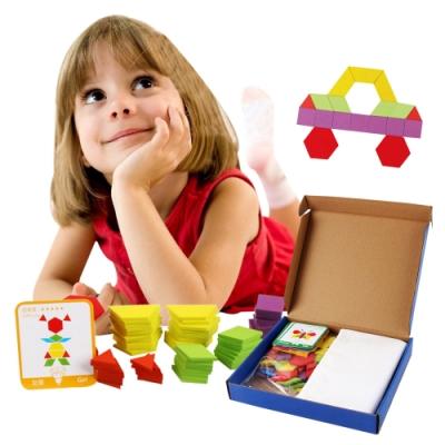 colorland兒童玩具 拼圖板塊益智玩具 形狀積木學習玩具