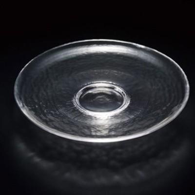 TAKAZAWA×津軽びいどろ 津軽びいどろ shallow plate230 clear X 2個   Bridal Ca…