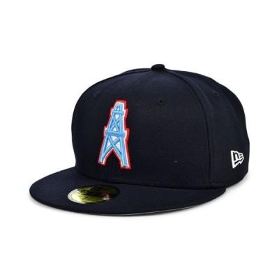 ニューエラ メンズ 帽子 アクセサリー Houston Oilers Team Basic 59FIFTY Cap
