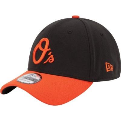 ニューエラ New Era メンズ キャップ 帽子 Baltimore Orioles 39Thirty Classic Black Stretch Fit Hat