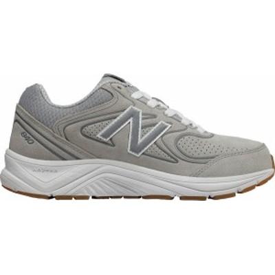 ニューバランス レディース スニーカー シューズ Women's New Balance WW840v2 Walking Shoe Grey/Grey/White Leather