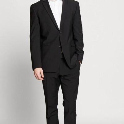 エスプリ メンズ ファッション TROPICAL SUIT - Suit - black