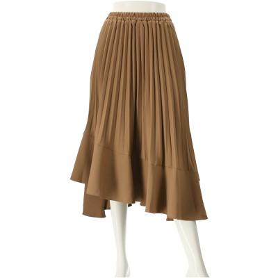 &LOVE プリーツ&フレアの細魅え素敵スカート
