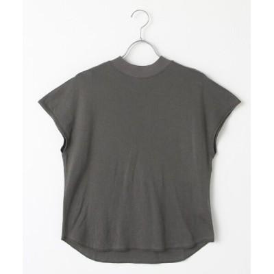 DENIM STYLE LAB/デニムスタイルラボ スマイルコットンショートスリーブTシャツ clay black S