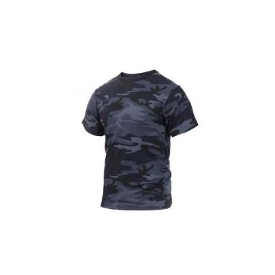 【大きいサイズ:2XL】ROTHCO / ロスコ 3831 Colored Camo T-Shirts:Midnight Blue Camo【サイズ:2XL】迷彩 カモフラージュ Tシャツ