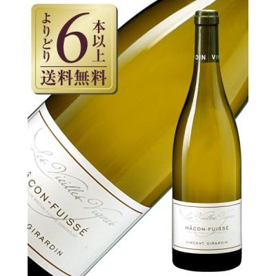 白ワイン フランス ブルゴーニュ ヴァンサン ジラルダン マコン フュイッセ 2017 750ml
