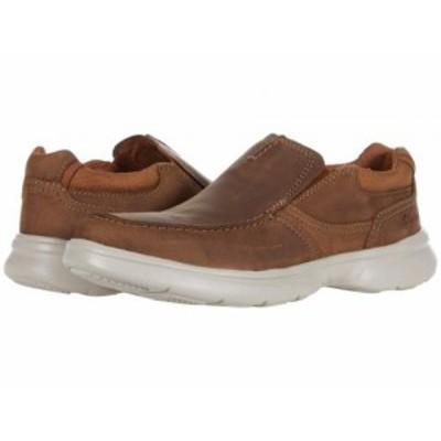 Clarks クラークス メンズ 男性用 シューズ 靴 ローファー Bradley Free Tan Leather【送料無料】